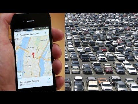 Car Parking Guide Through Map   Apple App   Apple iphone