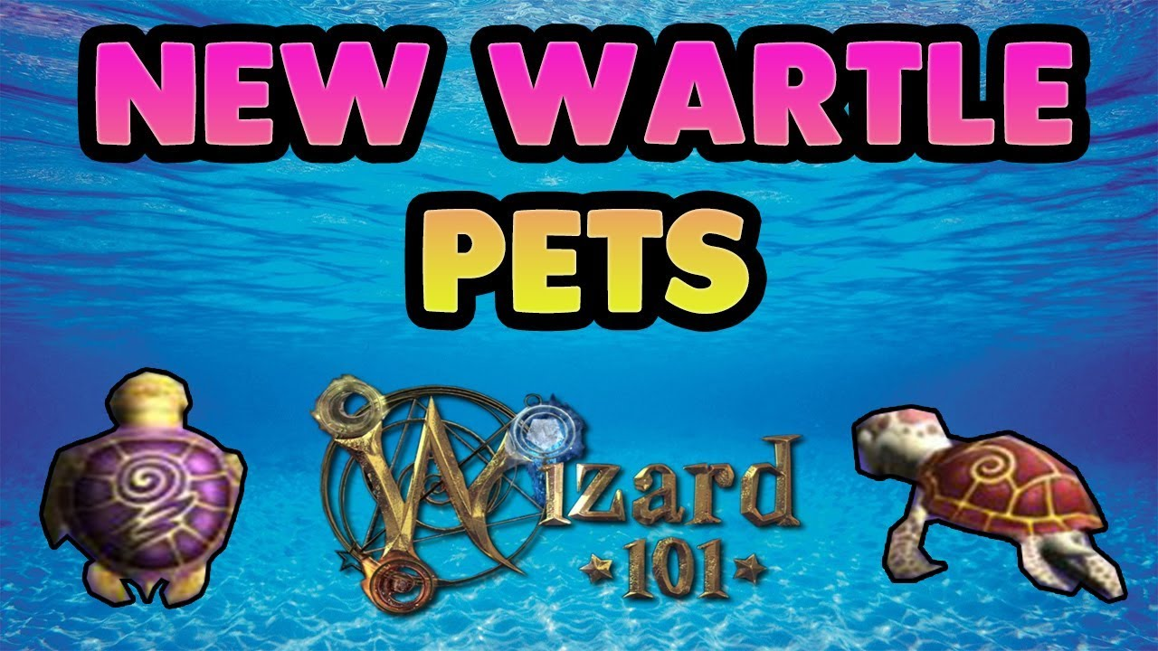 Wizard101 New Wartle Pets and Where to Get Them! : LightTube