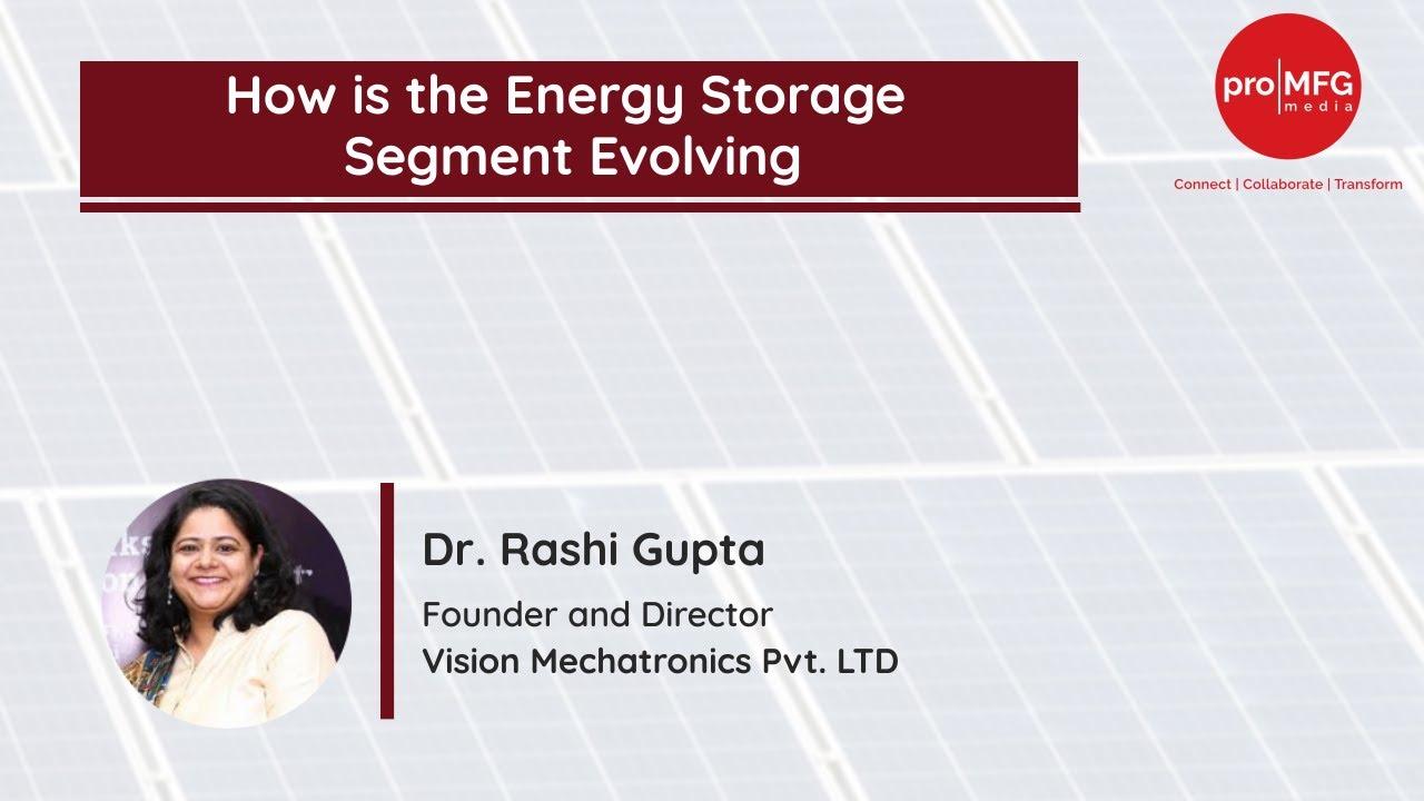 Update on the Energy Storage Segment / Status December 2020
