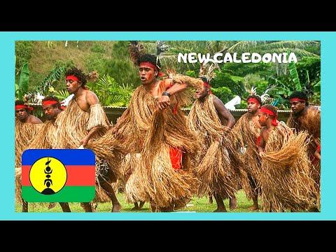 Fascinating KANAK (Melanesian) dancing in Noumea, NEW CALEDONIA