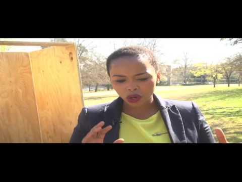 Elide Fire CEO Lona Mkalali explains the Fire Extinguishing Ball