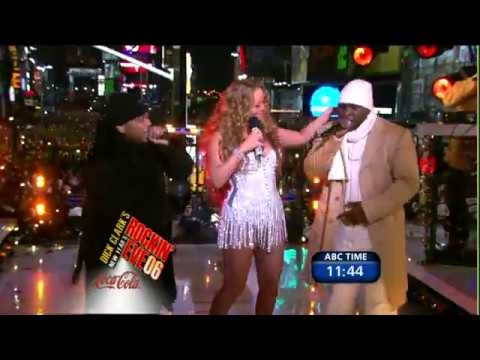 HD Mariah Carey Medley Dick Clark's New Year's Rockin' Eve 2005 12 31