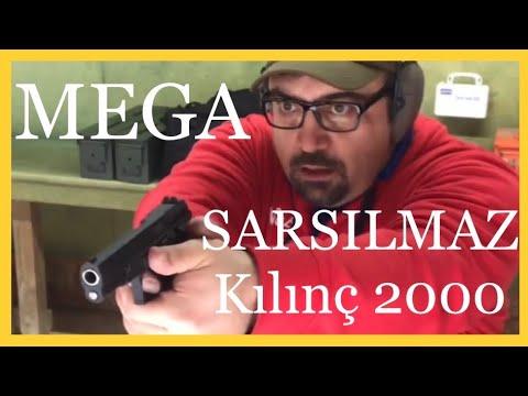SARSILMAZ KILINÇ 2000 MEGA ( 1500 Atış - Silah İncelemesi ve Kutu Açımı)