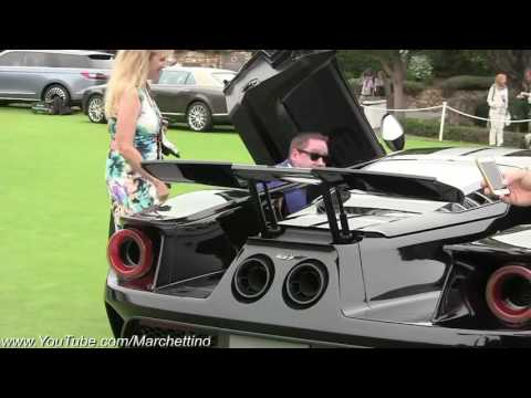 Sound exhaust 2017 Ford GT    Start up & Revs