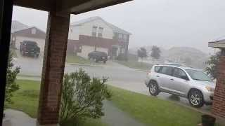 Tropical Storm Bill day 2 in Leander TX