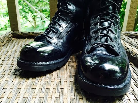 How To Spit Shine Boots Police, Military, Academy Polish