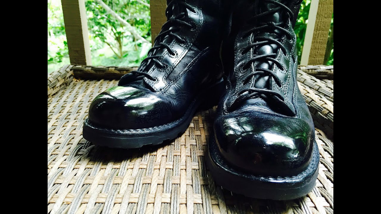 How to Spit Shine Boots - Police