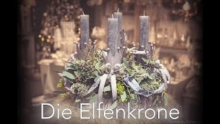 DIY Adventskranz - Die Elfenkrone
