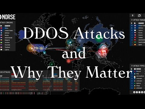 DDoS ATTACKS EXPLAINED! The worrying rise of cyber warfare and Trump