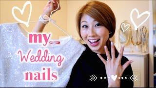 ウェディングネイル♪ // My wedding nails♪〔#384〕