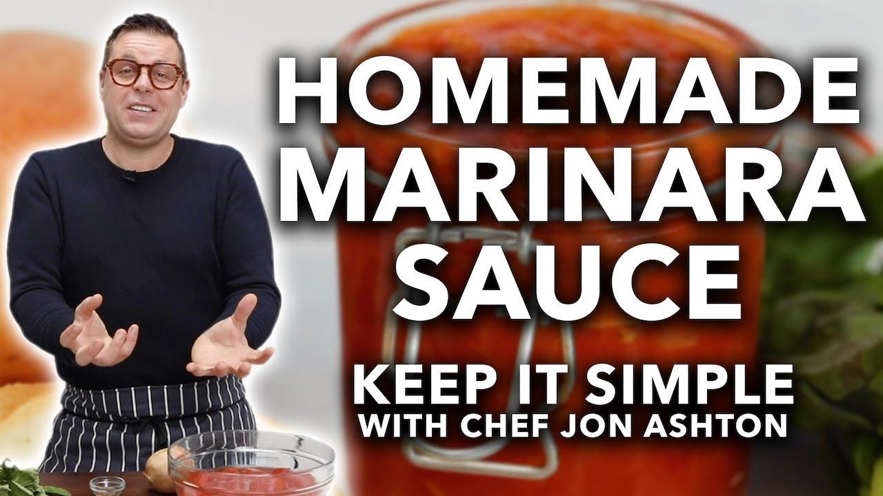 How to Make Marinara Sauce   Keep It Simple