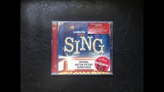 Sing Soundtrack Unboxing - Deluxe Target Exclusive