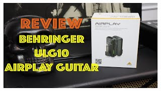 Review sistema inalámbrico BEHRINGER ULG10 Airplay Guitar