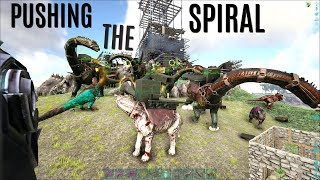 SETUP and FIRST PUSHES vs ORIGIN - Official (E45) - ARK Survival Gameplay