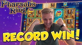 RECORD WIN!!!! Pharaohs Ring Big win - Casino - Huge Win (Online Casino)