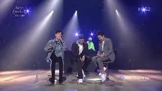 Gray is singing Ed Sheeran's Shape of you at Yoo Hee Yeol's Sketchbook