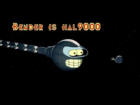 Bender as HAL9000
