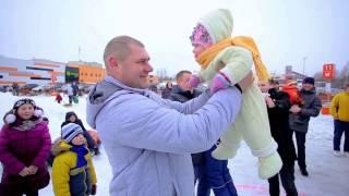 Международный день объятий в Гродно на снежной горке ZimaCity