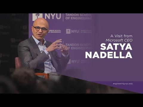 A Visit from Satya Nadella