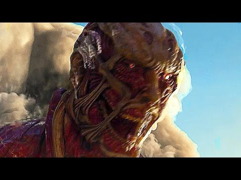 ATTACK ON TITAN Game Full Movie All Cutscenes (ENGLISH SUB)