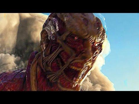 ATTACK ON TITAN Game Full Movie All Cutscenes (ENGLISH SUB)