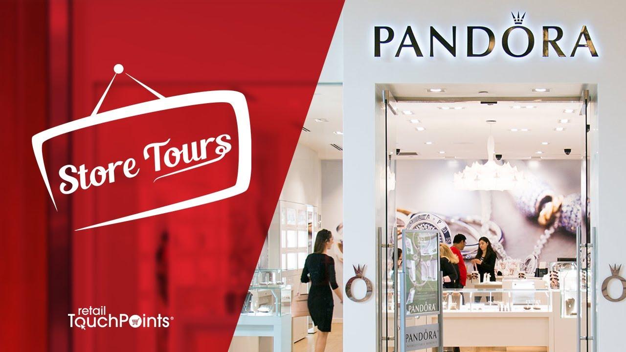 StoreTours: Pandora Jewelry Unveils New Immersive Store Concept