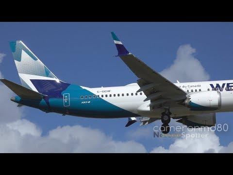 Cancelled Westjet MAX Turnaround | Boeing 737 MAX 8 | C-GEHF | Nassau,Bahamas