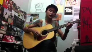 Melly Goeslaw-Bagaikan Langit,reggae version cover by Rezky