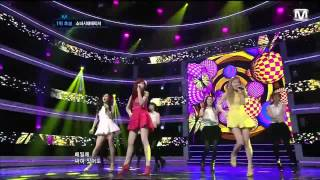 HD 120524 Girls' Generation SNSD TaeTiSeo TTS - Twinkle @ MCountdown