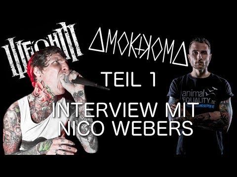 SCHON 22 JAHRE VEGAN?! INTERVIEW MIT NICO WEBERS (AMOKKOMA, JENNIFER ROSTOCK)! (TEIL 1/2)