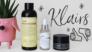 KLAIRS BEST SELLERS - what's worth it, what's not?