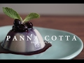 Vegan Panna Cotta with Blueberry Compote   Sensible Plate