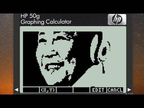 How to Upload Images to an HP-50G Calculator