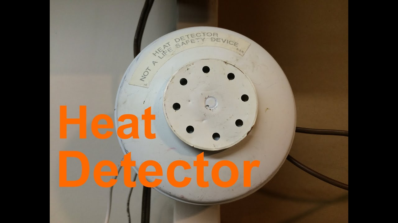 Testing The Edwards 135 Fixed Rate Of Rise Heat Detector Youtube Hair Dryer Wiring Diagram