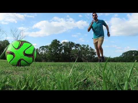 We Played Foot Golf At Walt Disney World!!