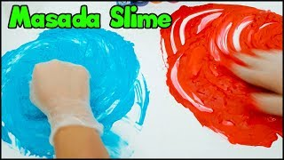 Masada Slime Challenge - Slime Challenge on Table - Vak Vak TV