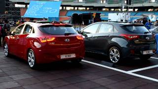 Hyundai New i30 - Parking Scene