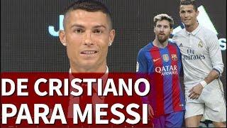 El mensaje de despedida de Cristiano Ronaldo a Messi | Diario AS