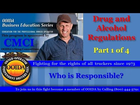 Drug and Alcohol Regs Part 1