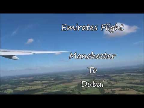 Manchester To Dubai Flight With Emirates Airline