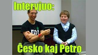 Intervjuo: Ĉesko kaj Petro