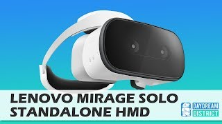 Finally! This Is The Lenovo Mirage Solo Daydream Standalone VR Headset!