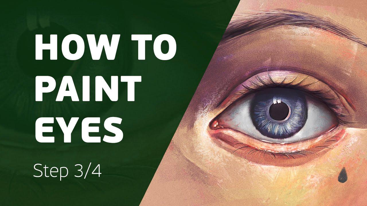 3 Ways to Paint Eyes pics