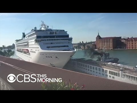 Venice cruise ship crash sparks protests, backlash