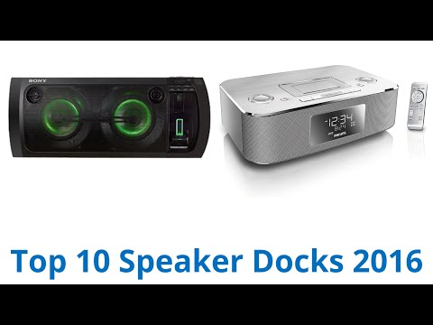 10 Best Speaker Docks 2016