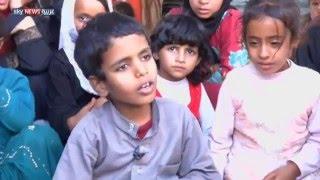أطفال مأرب.. أكثر المتضررين من الميليشيات الحوثية
