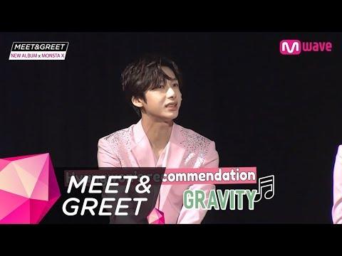 Free download lagu [MEET&GREET] Hyungwon&Wonho sing 'GRAVITY' Mp3 online