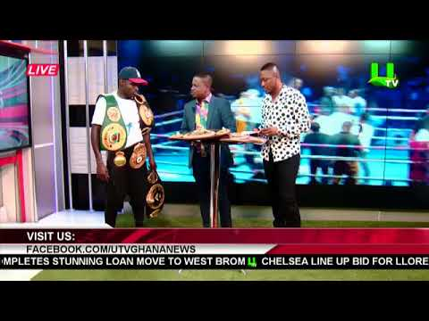 I will fight Isaac Dogboe with one hand - Emmanuel Tagoe