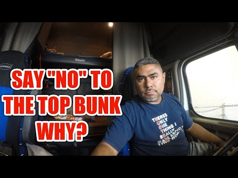 Truck Top or Bottom Bunk?? Where and Why?? | A MUST WATCH
