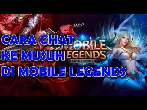 Cara Chat Ke Musuh Di Game Mobile Legends Syapa Tau Mau BACOTAN ~ MOBILE LEGENDS INDONESIA